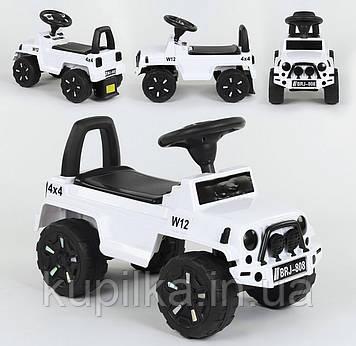 Машина-толокар 808 G-8005 JOY, цвет белый