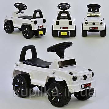 Машина-толокар V-10606 JOY, цвет белый