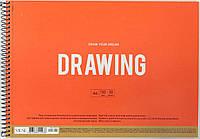 """Альбом для малюв. на пруж. 30арк. A4 """"Muse"""" крафт-картон №PB-SC-030-300/Школярик/(1)(36)"""