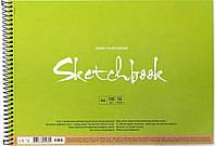 """Альбом для ескізів на пруж. 50/100 A4 """"Muse"""" крафт-картон №PB-SC-050-301/Школярик/(1)(36)"""