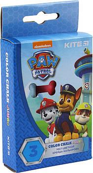 "Крейда кольор. ""Kite"" №PAW18-077 3кольор. Jumbo Paw Patrol(20)(120)"