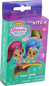 """Крейда кольор. """"Kite"""" №SH18-077 3кольор. Jumbo Shimmer Shine(20)(120)"""