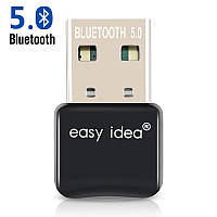 USB Bluetooth 5.0 Easy Idea блютуз адаптер для компьютера на чипе RTL8761BUV