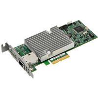 Мережева карта Supermicro 1x10GbE RJ45, PCI-Ex4, Intel® X550-AT (AOC-STGS-I1T-O)