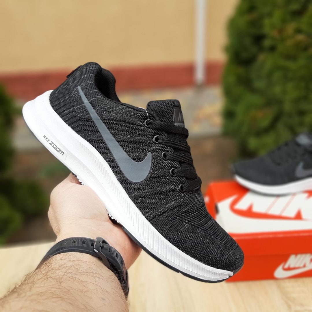 Мужские кроссовки Nike Zoom (черно-белые) 10050