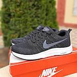 Мужские кроссовки Nike Zoom (черно-белые) 10050, фото 3