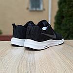 Мужские кроссовки Nike Zoom (черно-белые) 10050, фото 7
