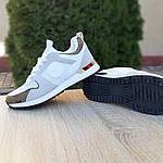 Женские кроссовки Louis Vuitton (белые с золотом) 20015, фото 2