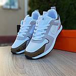 Женские кроссовки Louis Vuitton (белые с золотом) 20015, фото 9