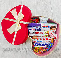 """Подарочный набор сладостей в коробке """"Сладкое серце"""""""