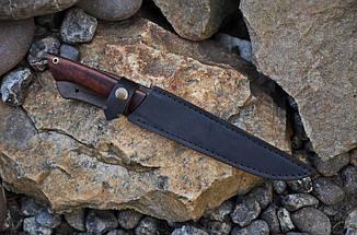 Обвалочный нож ручной работы с рукоятью из сапеле, М390, фото 2