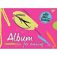 """Альбом для малюв. на пруж. 30/100 А4 """"Yes"""" Paint brush матов.лам.+ неон+софт-тач№130386(3)"""