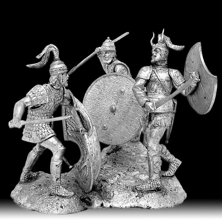 Гектор, Ахиллес, Патрокл на Троянской войне