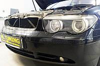 BMW 7 (E65) - замена линз на светодиодные Bi-LED линзы