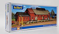 Kibri 39462 Сборная модель железнодорожного пакгауза (склад) длиной 47см, масштаба 1/87, H0, фото 1