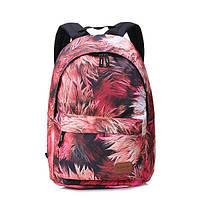 Тканевый городской рюкзак для девушек женский школьный подростковый яркий