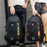 Модный Городской рюкзак камуфляж школьный спортивный мужской женский подростковый