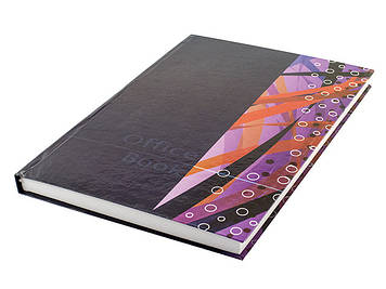 Книга-канц. A4 200арк. лін. тв. обкл. офс./Фолдер/(10)