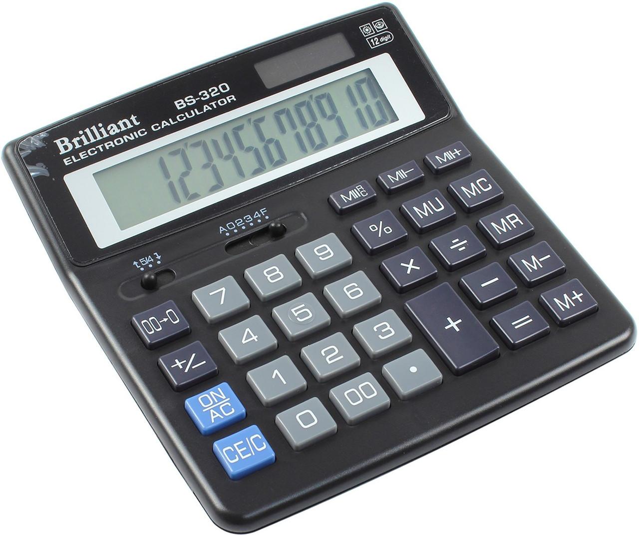 "Калькулятор ""Brilliant"" №BS-320(12-разряд.)"