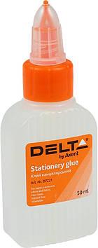 """Клей канц. """"Delta by Axent"""" №7221 50мл ковпачок-дозатор(1)(80)"""