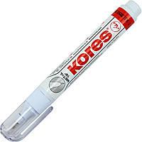 """Коректор-ручка метал. нак. """"Kores"""" 10гр №K83301(12)"""