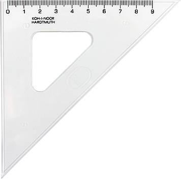 """Трикутник пласт. """"Koh-i-noor"""" прозор. 45/113 №745398(50)"""