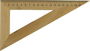 Трикутник дерев. 22см 60х90х30 №0311(25)(50)