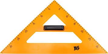 """Трикутник пласт. для дошки """"1В""""/""""Yes"""" №РR-7/370278 рівнобедр.(50)"""