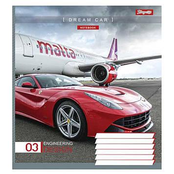 Зошит 36арк. лін. 1В Dream Car №763593(15)(240)