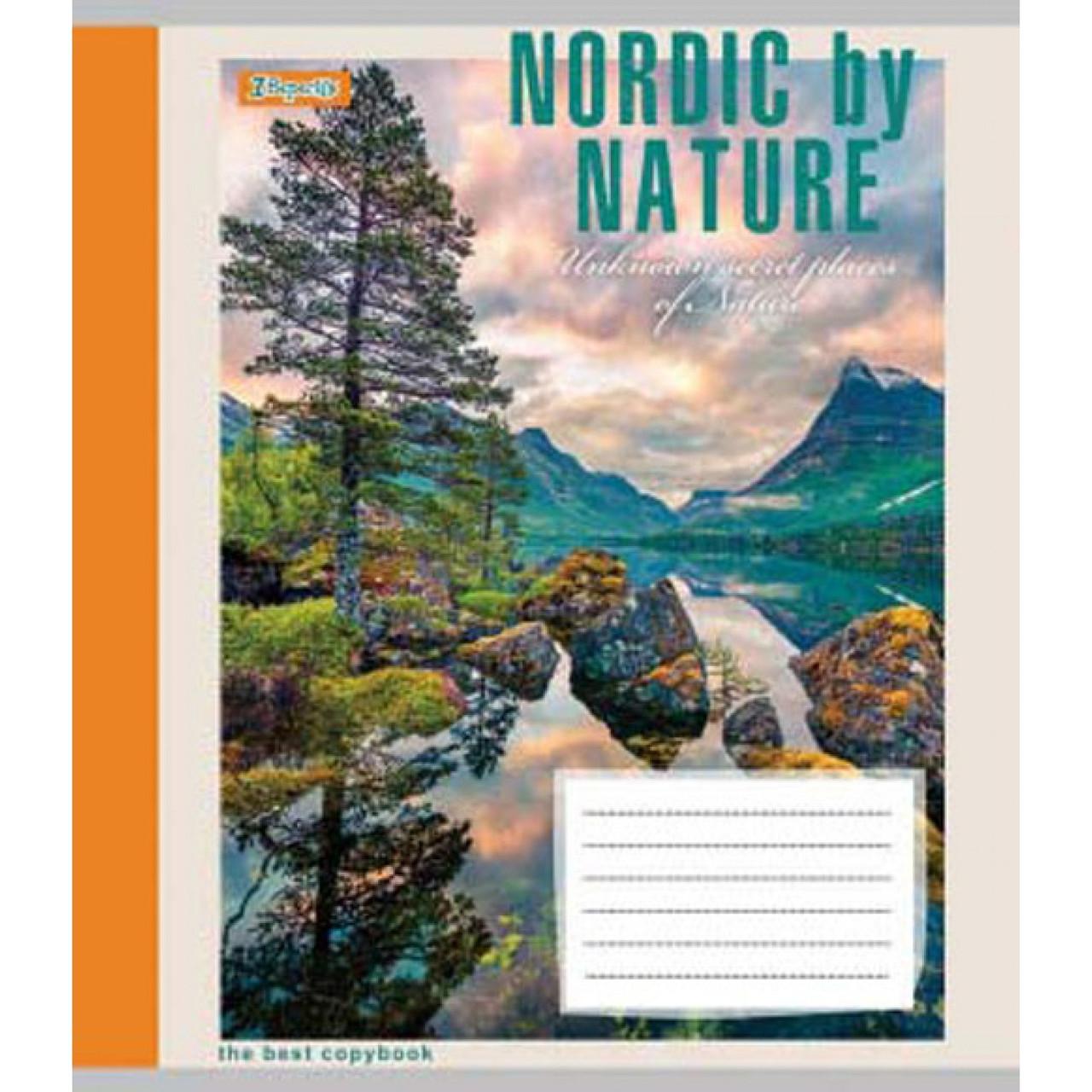 Зошит 36арк. лін. 1В Nordic by nature №763597(15)(240)