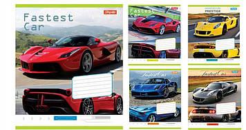 Зошит 48арк. лін. 1В Fastest car №762720(10)(200)