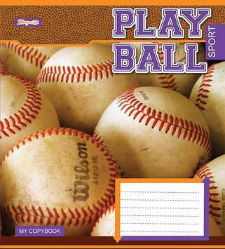 Зошит 48арк. лін. 1В Play ball №762752(10)(200)