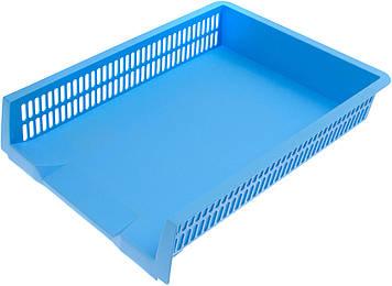 """Лоток горизонт. """"Axent"""" Pastelini №4040-22 блакитний(12)"""