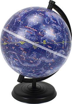 Глобус 220мм зоряне небо (укр)(ТОР)(12)