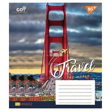 Зошит 48арк. лін. YES Travel The World №763838(10)(200)
