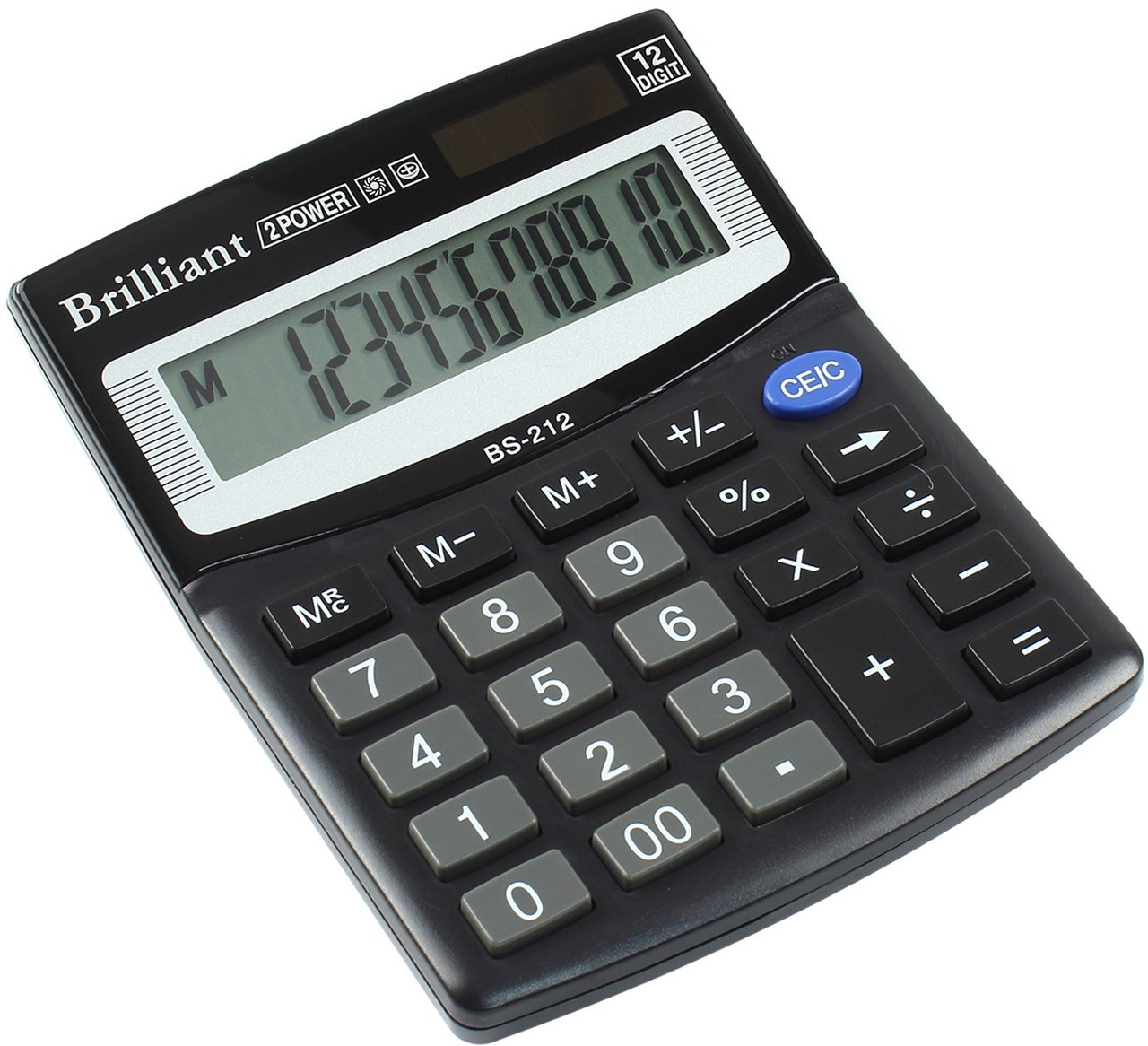 "Калькулятор ""Brilliant"" №BS-212 (12-розряд.)(50)"