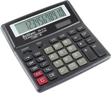 "Калькулятор ""Brilliant"" №BS-312 (12-розряд.)(10)"