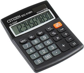 """Калькулятор """"Citizen"""" №SDC-810BN/SDC810NR (10-розряд.)"""