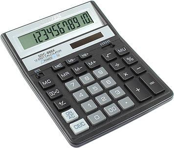 "Калькулятор ""Citizen"" №SDC-888XBK чорн. (12-розряд.)"