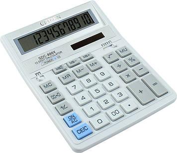 "Калькулятор ""Citizen"" №SDC-888XWH біл. (12-розряд.)"