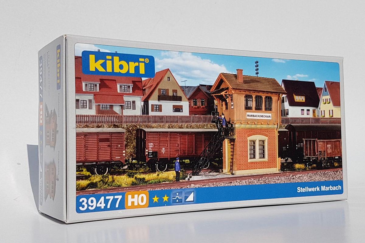 Kibri 39477 Сборная модель путевого поста для детской железной дороги, масштаба 1/87, H0
