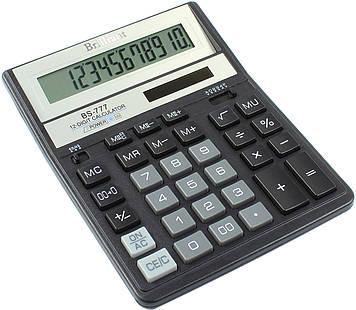 "Калькулятор ""Brilliant"" №BS-777BK (12-розряд.)(10)"