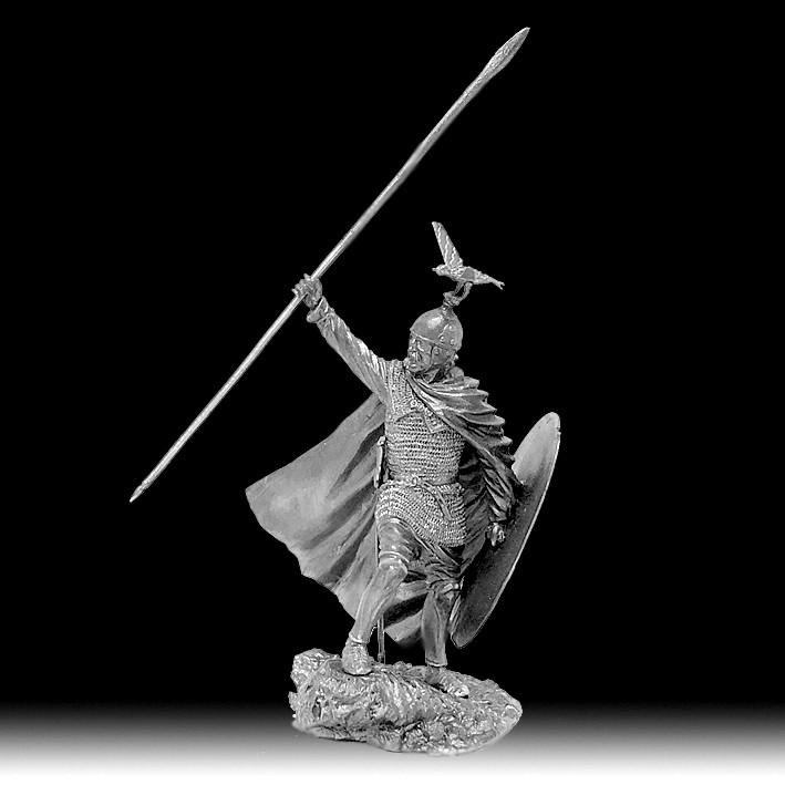 Кельтський воїн зі списом