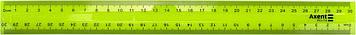 Лінійка пласт. 30см №D9800-01 жовта(30)
