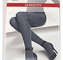 Колготки жіночі ТМ Marilyn з візерунком Розмір 1/2. 3/4, фото 3