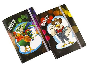 """Блокнот А6 карт. 50арк. кліт. """"Новорічний""""/Фолдер/(1)(50)"""