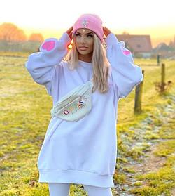 Модная туника Love женская Белая