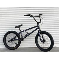 Детский подростковыйВЕЛОСИПЕД ВМХ-5 20 ДЮЙМОВ СИНИЙ трюковый велосипед