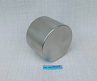 Неодимовый магнит хром 55мм/35мм (130 кг), фото 1