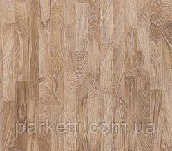 Паркетная доска Focus Floor Дуб Salar Oiled 3-полосный, белые поры, масло